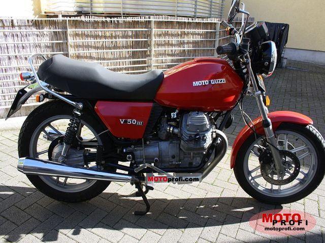 Moto Guzzi V 50 III 1983 photo
