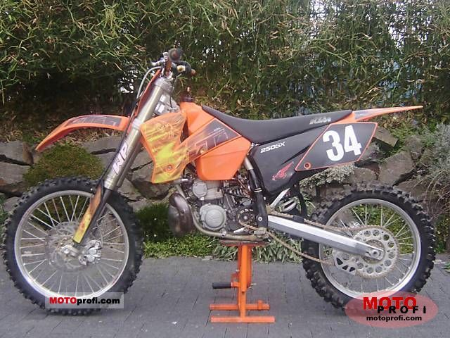 Ktm 250 Sx 2003 Specs And Photos