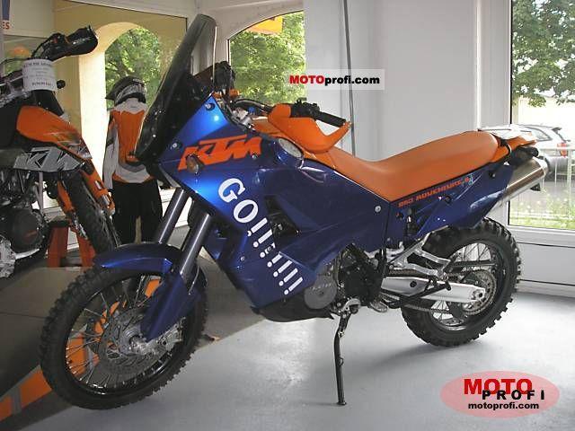 ktm 950 adventure s 2005 specs and photos