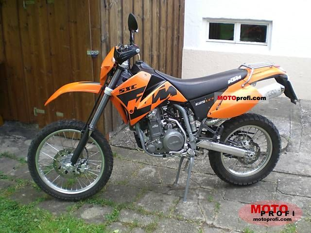 ktm 625 sxc 2004 specs and photos