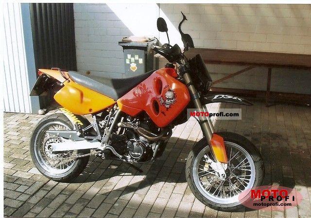 KTM GS 620 Duke 1996 photo