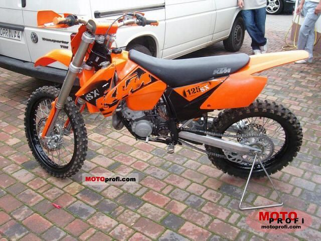 ktm 125 sx 2004 specs and photos
