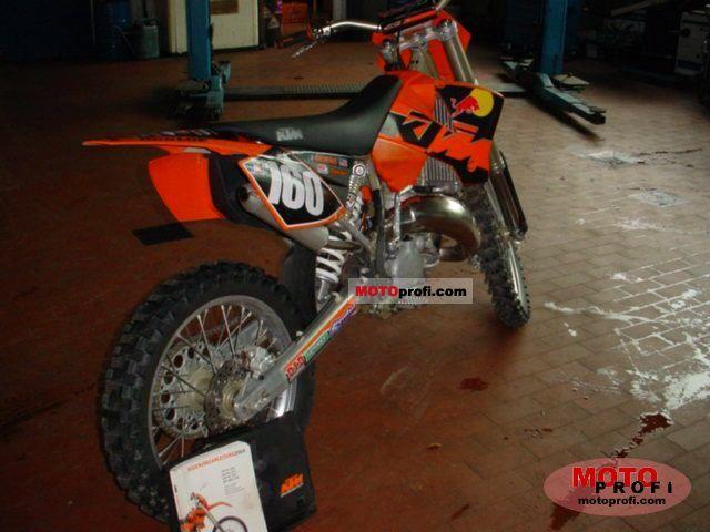ktm 125 sx 06. KTM 125 SX 2004