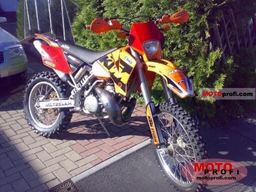 ktm 250 2 stroke. KTM 250 EXC 2004