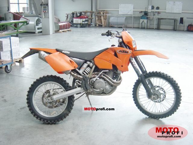 Ktm 450 Exc Racing 2003 Specs And Photos