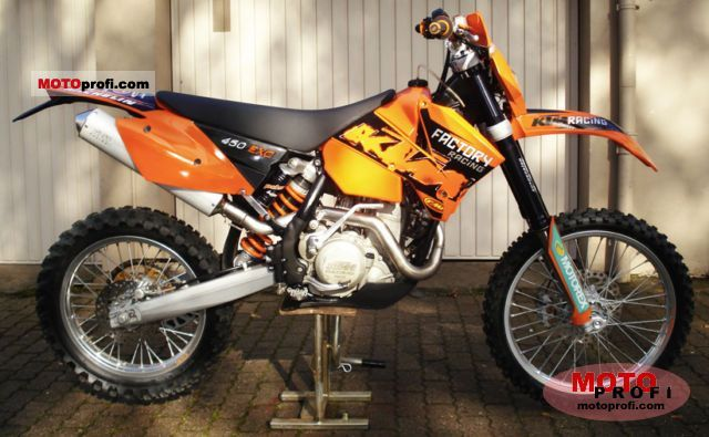 ktm 450 exc racing 2005 specs and photos. Black Bedroom Furniture Sets. Home Design Ideas