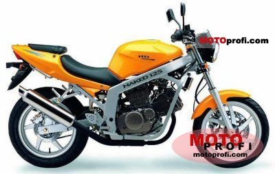 Review of Hyosung GT 125 Comet 2003: pictures, live photos