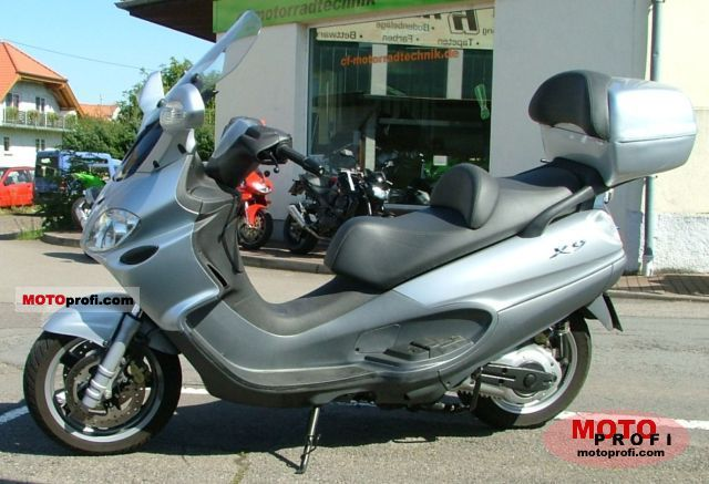 piaggio x9 evolution 500 2005 specs and photos