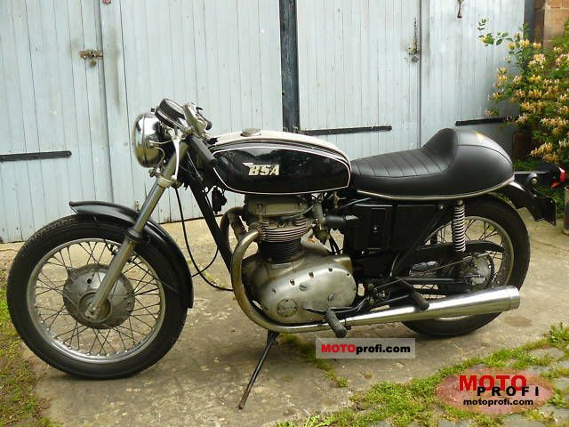 BSA A 65 Lightning 1971 photo