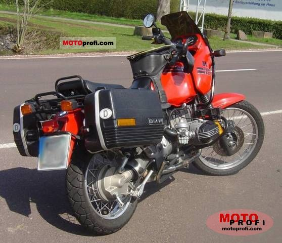 BMW R 100 GS 1993 photo