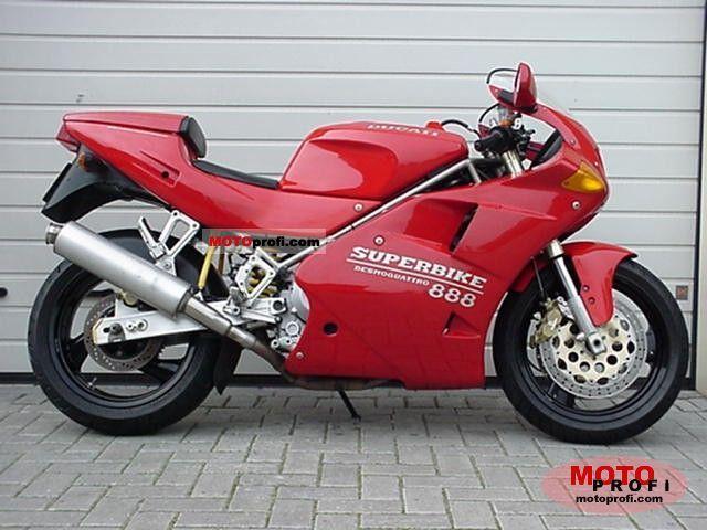 Ducati 888 Strada 1993 photo