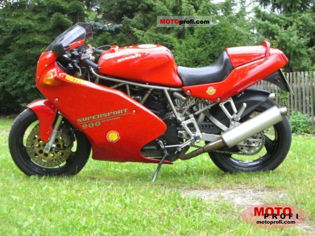 Ducati 900 SS 1993 Specs and Photos