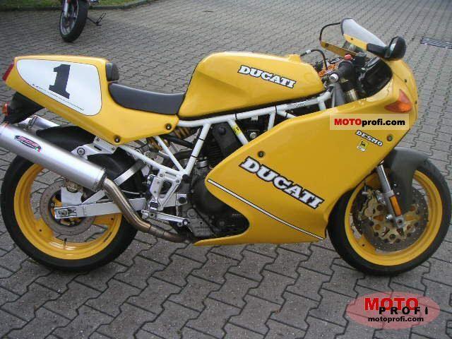 Ducati 900 Superlight 1993 photo