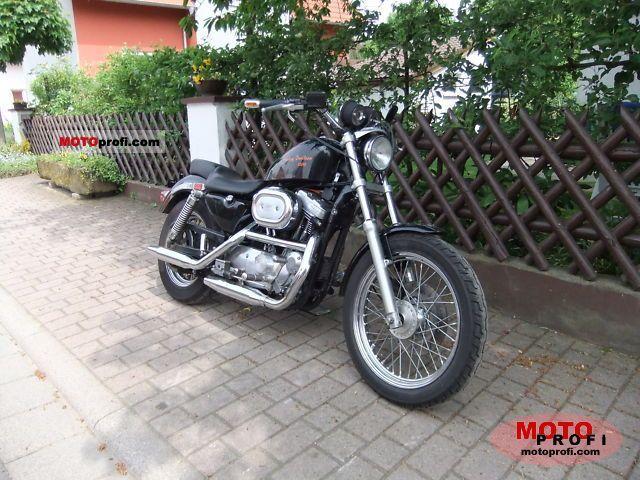 Harley-Davidson 1200 Sportster 1993 photo