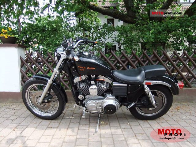 Harley Davidson 1200 Sportster 1993 Specs And Photos