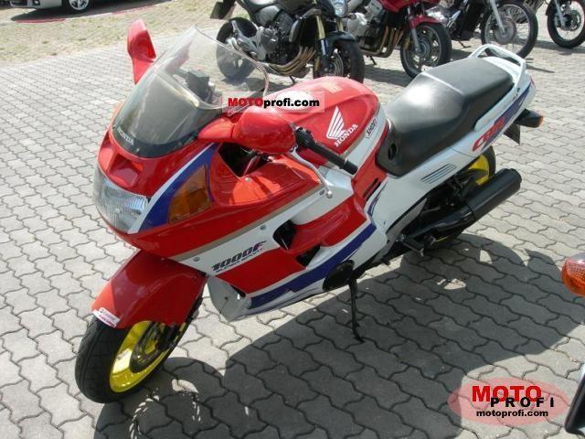 Honda CBR 1000 F 1993 photo