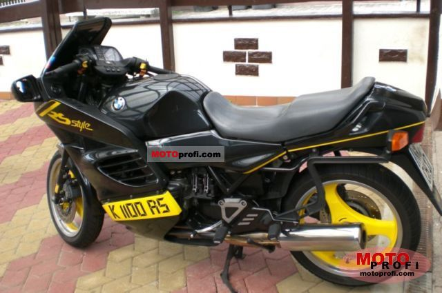 Bmw K 1100 Rs 1994 Specs And Photos