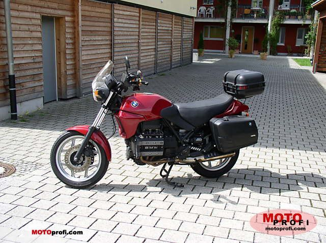 bmw k 75 1994 specs and photos. Black Bedroom Furniture Sets. Home Design Ideas