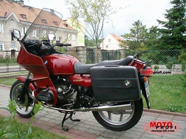 Bmw R 80 Rt 1994 Specs And Photos
