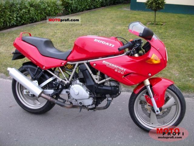 Ducati 600 SS N 1994 photo
