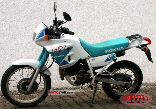 Honda NX 250 1994 photo
