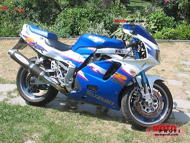 Suzuki Gsx R 750 W 1994 Specs And Photos