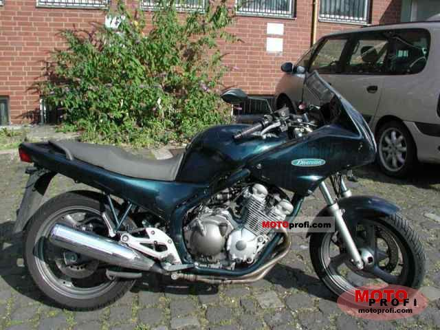 Full screen: yamaha xj 600 silver