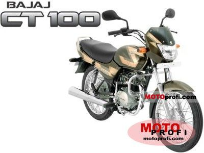 Bajaj CT 100 2006 photo