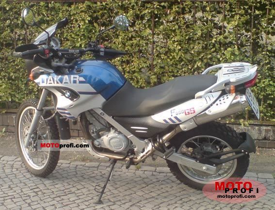 BMW F 650 GS Dakar 2006 photo