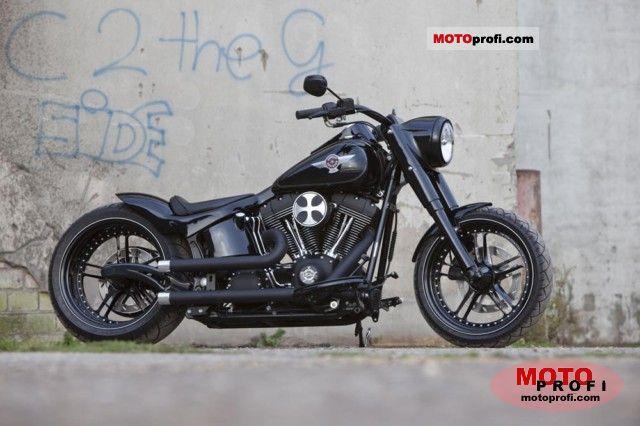 Harley-Davidson FLSTF Fat Boy 2006 photo
