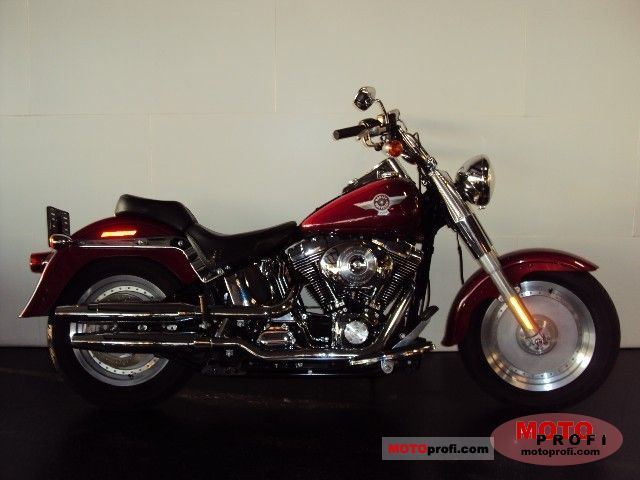 Harley-Davidson FLSTFI Fat Boy 2006 photo