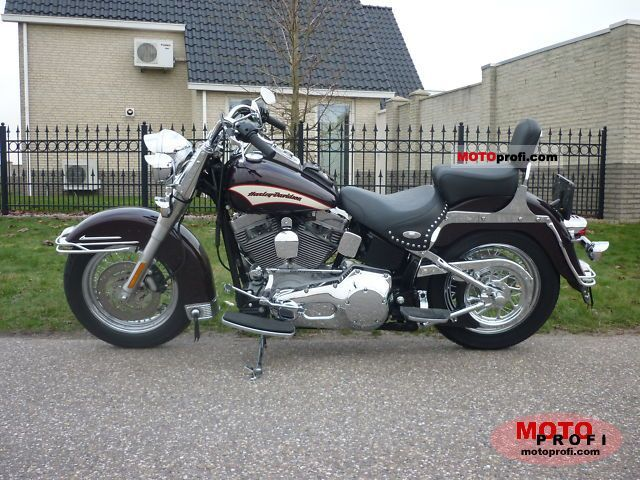 Harley-Davidson FLSTI Heritage Softail 2006 Specs and Photos