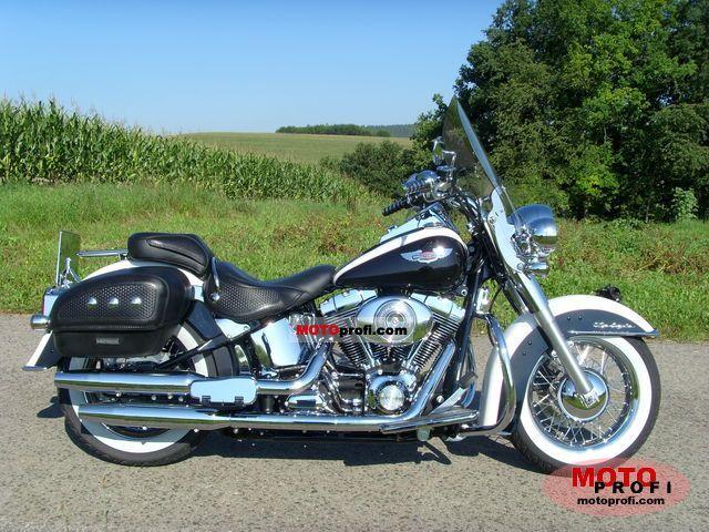 Harley-Davidson FLSTNI Softail Deluxe 2006 photo
