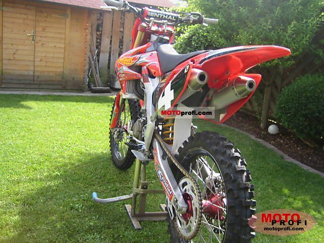 Honda CRF 250 R 2006 Specs and Photos