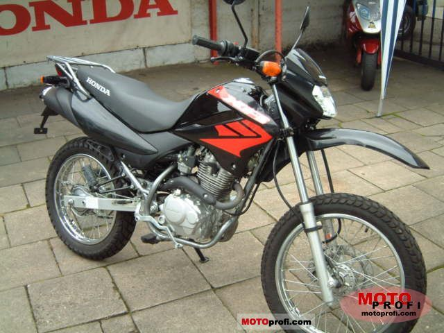 honda xr 125 l 2006 specs and photos. Black Bedroom Furniture Sets. Home Design Ideas