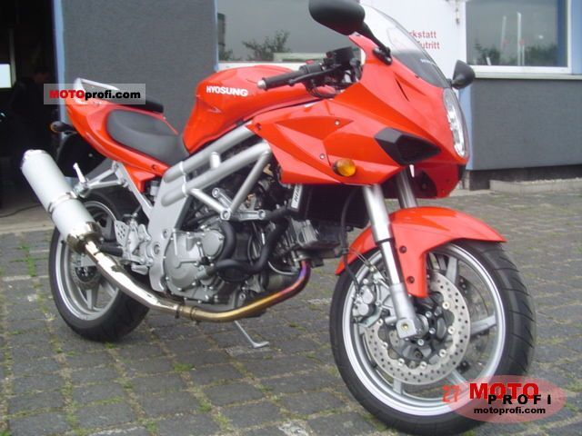 hyosung gt 650 s 2006 specs and photos. Black Bedroom Furniture Sets. Home Design Ideas