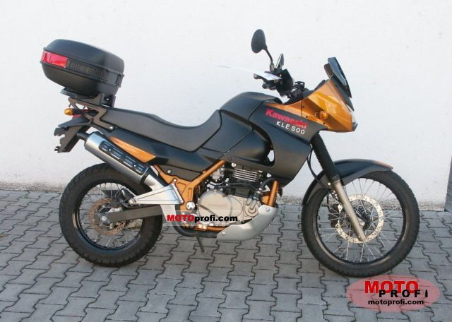 Kawasaki KLE 500 2006 photo