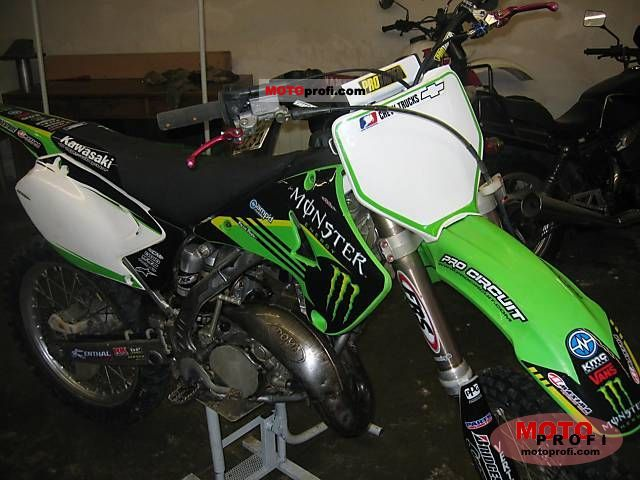 Fabulous Kawasaki Kx 125 2006 Specs And Photos Pabps2019 Chair Design Images Pabps2019Com