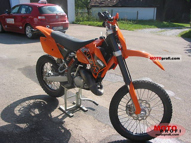 ktm 125 exc 2006 specs and photos. Black Bedroom Furniture Sets. Home Design Ideas