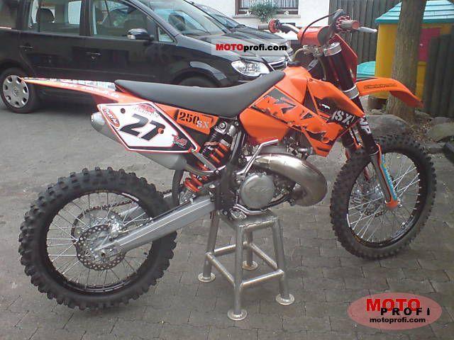KTM 250 SX 2006 photo