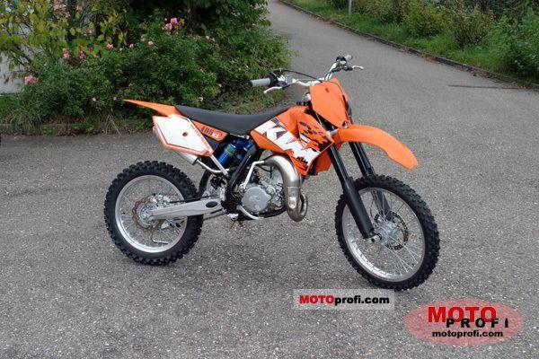 KTM 85 SX 2006 photo