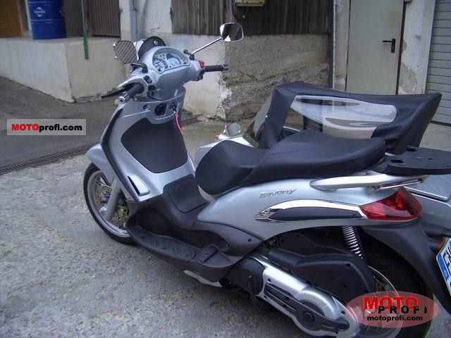 piaggio beverly 500 2006 specs and photos