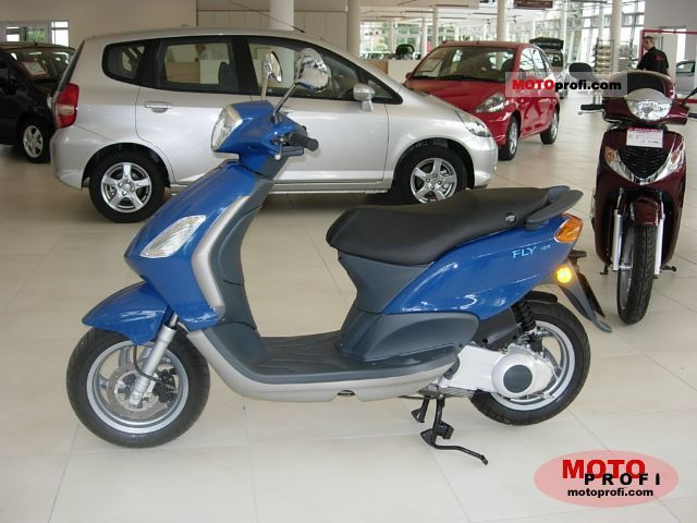 piaggio fly 125 2006 specs and photos