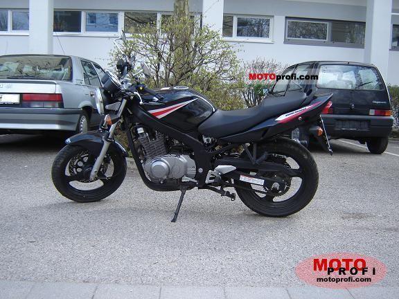 suzuki gs 500 2006 specs and photos