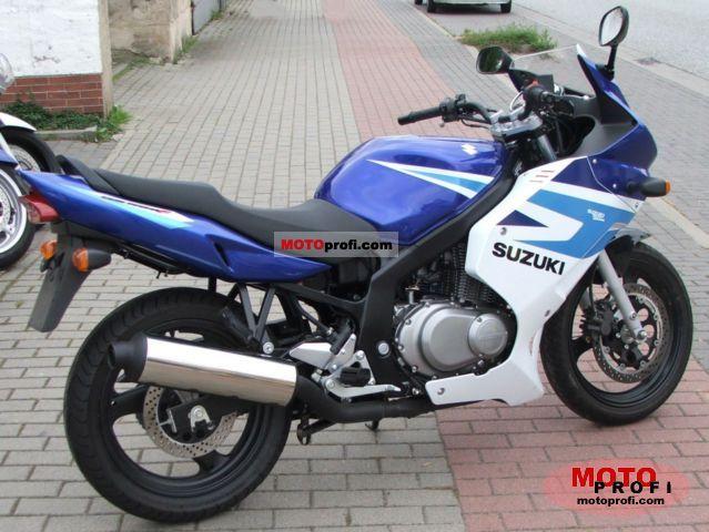 suzuki gs 500 f 2006 specs and photos