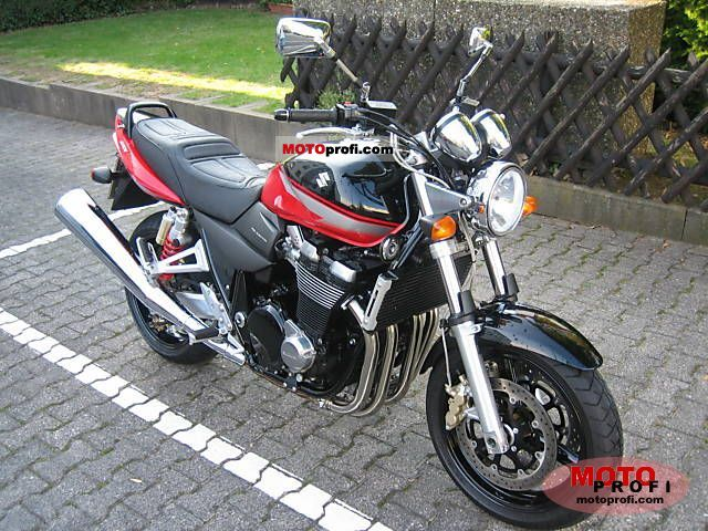 Suzuki gsx 1400 2006 specs and photos