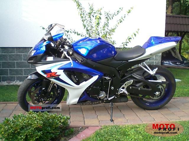 suzuki gsx r 600 2006 specs and photos. Black Bedroom Furniture Sets. Home Design Ideas