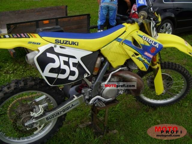 Suzuki Rm 250 2006 Specs And Photos
