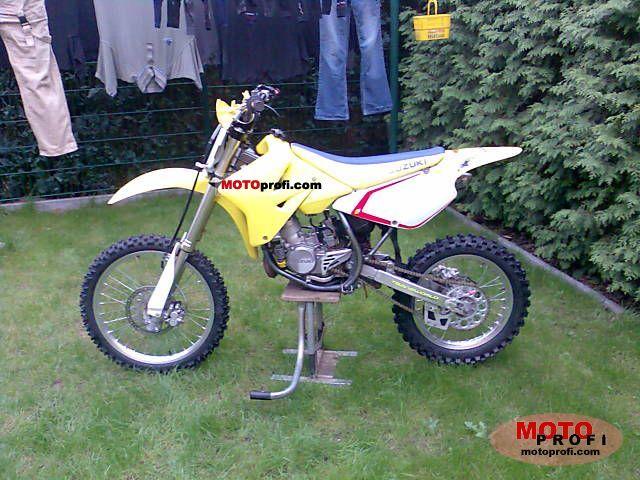 Suzuki Rm 85 L 2006 Specs And Photos