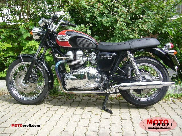 Triumph Bonneville T100 2006 Specs and Photos